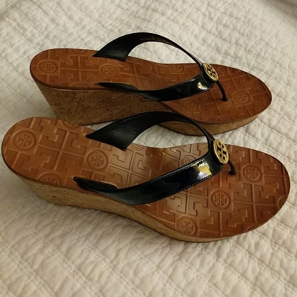 3174df6ffbe0a9 Tory Burch Thora wedge cork sandal. M 5ab9a8978290af19aca4ff90. Other Shoes  you may like